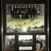 Signed Newcastle 1969 Fairs Cup Montage