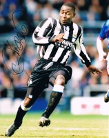 Signed Andrew Cole Newcastle Photo