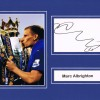 Signed Mark Albrighton Leicester City Card
