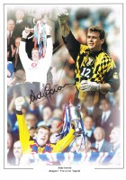 Signed Andy Goram Rangers Montage