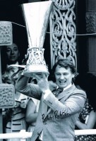 Signed Bobby Robson Ipswich Town Photo