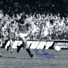 Signed Bryan Robson v Oldham Photo