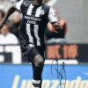 Signed Demba Ba Newcastle Photo
