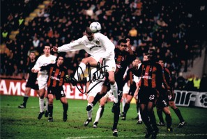 Signed Dominic Matteo Leeds United Photo