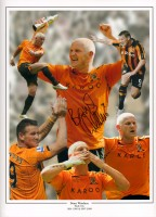 Signed Dean Windass Hull City Play Off Montage