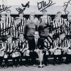 Signed Newcastle United 1969 Fairs Cup Photo