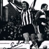 Signed Alan Gowling Newcastle Photo
