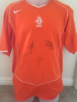 Signed Holland Home Shirt