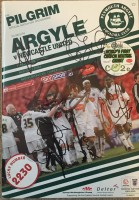 Signed Newcastle Champions Programme