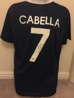 Signed Remy Cabella France Home Shirt
