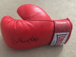 Signed Sir Henry Cooper Boxing Glove