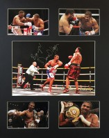 Signed David Haye Boxing Photo