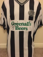 Signed Paul Gascoigne Newcastle Shirt