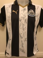 Signed Newcastle 16/17 Home Shirt