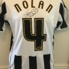 Signed Kevin Nolan Newcastle Home Shirt