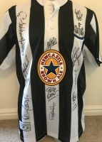Multi Signed Newcastle Entertainers Shirt