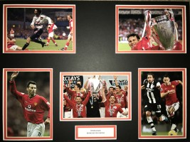 Signed Ryan Giggs Manchester United Photo Montage