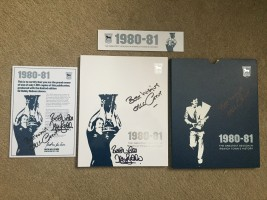 Signed Ipswich Town Book