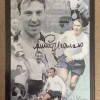 Signed Jimmy Greaves Photo Montage