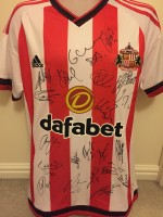Multi Signed Sunderland Home Shirt