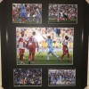 Signed Sergio Aguero Manchester City Framed Montage