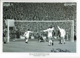 Signed Jimmy Robertson Tottenham Photo