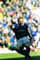 Signed Jorg Albertz Rangers Photo