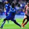 Signed N'Golo Kante Leicester City Photo
