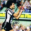 Signed Kevin Keegan Newcastle debut photo