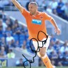 Signed Kevin Phillips Blackpool Photo