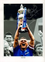 Signed Lee McCulloch Rangers Photo
