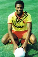 Signed Luther Blissett Watford Photo