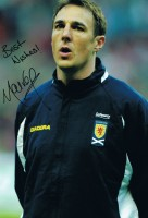 Signed MAlky Mackay Scotland Photo