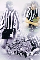 Signed Malcolm Macdonald Montage