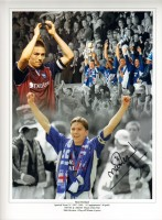 Signed Matt Holland Ipswich Town Montage