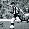 Signed Mick Quinn Newcastle Photo
