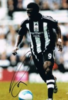 Signed Obafemi Martins Newcastle Photo