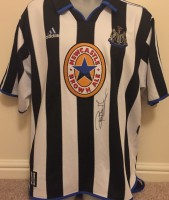 Signed Robert Lee Newcastle Home Shirt