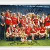 Signed Manchester United 1985 FA Cup  photo