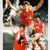 Signed Charlie Nicholas Arsenal Montage