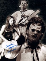 Signed Gunnar Hansen Leatherface Montage