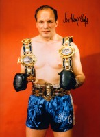 Signed Henry Cooper Boxing Photo