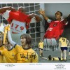 Signed Ian Wright & Charlie George Arsenal Montage