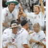 Signed Michael Vaughan & Matthew Hoggard Ashes Montage