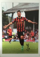 Signed Sergio Aguero Manchester City Photo