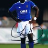 Signed Sol Campbell Portsmouth Photo