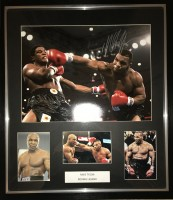 Signed Mike Tyson Boxing Photo