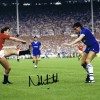 Signed Norman Whiteside Manchester United Photo