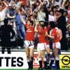 Signed Norman Whiteside FA Cup Final 1985 Celebration