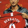 Signed Dimitar Berbatov Manchester United Photo